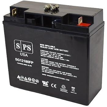 Amazon Replacement Battery Apc Smart Ups 750xl 12v 18ah Ups