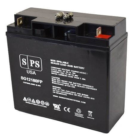 Werker WKA12 18NB 12V 18Ah scooter wheelchair replacement Battery ( SPS Brand) by SPS