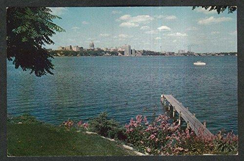 lake-monona-skyline-central-madison-wi-postcard-1960s