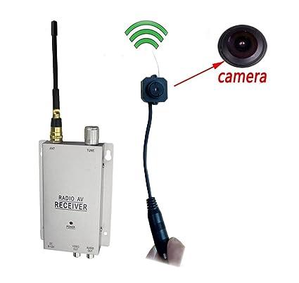 podofo Cámaras de Seguridad sin alambres Receptor de Comprobación Cámara de Vídeo de Vigilancia CCTV