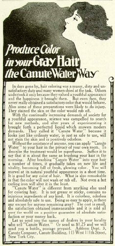 1920-ad-grey-gray-hair-color-dye-canute-water-way-easy-application-womens-face-original-print-ad