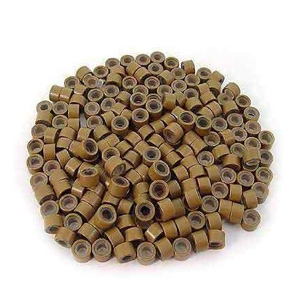 Amazon toogoor 200 pcs black 5mm silicone lined micro ring 200 pcs 5mm light brown color silicone lined micro rings links beads for i bond stick pmusecretfo Image collections