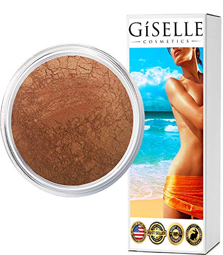 Bronzer Makeup | Gold Digger | Bronzer For Face | Pure, Non-Diluted Mineral Make Up | Contour Highlight Blush Palette | Contouring Makeup Products | Facial Contouring With Bronze