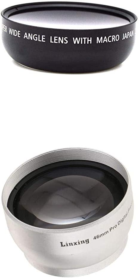 46mm Professional HD 2.0X Telephoto Converter AF with Lens Cap for DSLR