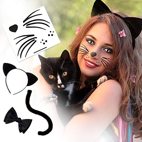 Cat Style Kit Temporary Tattoos | Skin Safe | MADE IN THE USA| Removable]()