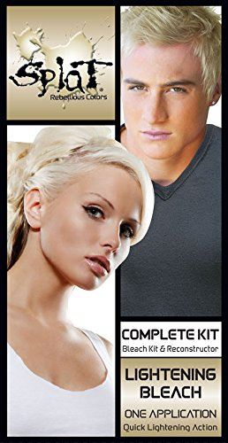 Amazon Com Splat Semi Permanent Hair Color Kit Inlightening Bleach Body Hair Bleaching Products Beauty