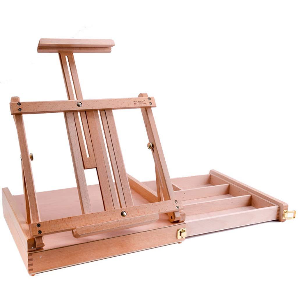 イーゼル木製デスクトップイーゼル収納スケッチスケッチ木材折りたたみ油絵棚デスクトップ絵画フレーム B07MYX6TT6 B07MYX6TT6, こっとんてーる:56234e07 --- ijpba.info