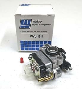 OEM Walbro carburador Carb MTD Ryobi Troy-Bilt Yardman Bolens Recortadora cultivador por la tienda de Rop