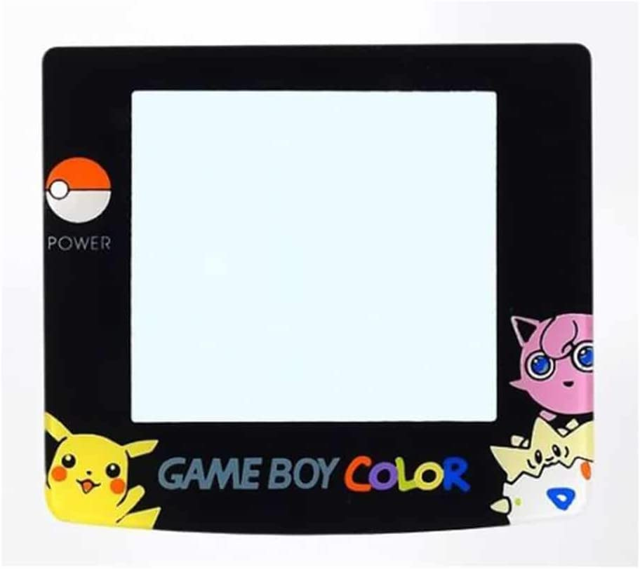 Game Boy Color (GBC) Screen Protector [Lens] Pokemon Togepi Jigglypuff Pikachu Mortoff Games
