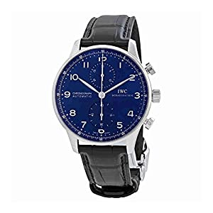 514BKZtCFkL. SS300  - IWC Portugieser Automatic Chronograph Blue Dial Mens Watch IW371491