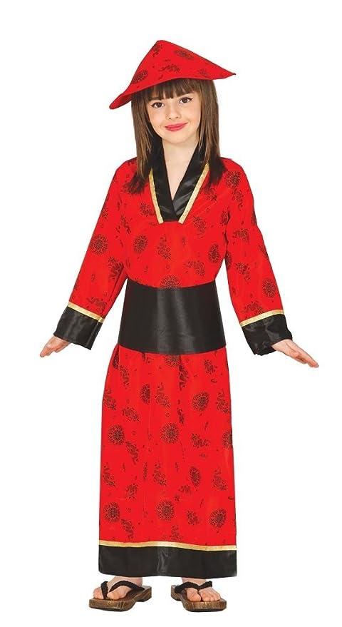 lussureggiante nel design davvero economico prodotto caldo Costume vestito cinese orientale carnevale bambina taglia 5 ...