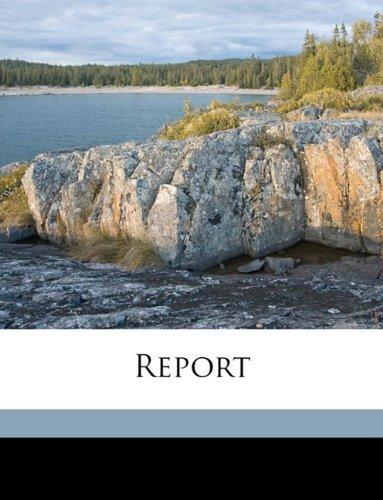 Download Report Volume 1906-1907 ebook