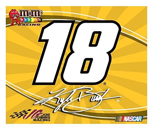 NASCAR #18 KYLE BUSCH DECAL-KYLE BUSCH STICKER DECAL-3