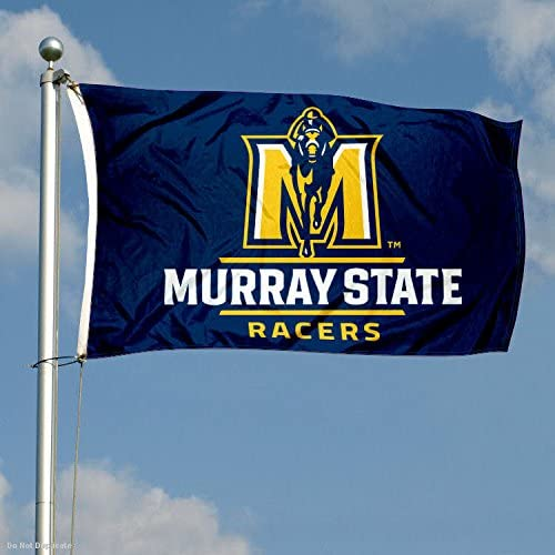 Murray State Racers Large New Logo 3x5 College Flag