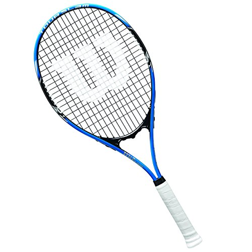 "Wilson Tour Slam Lite Tennis Racket, 4 3/8"" - Blue/Black"
