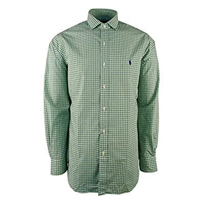 Polo Ralph Lauren Men's Long Sleeve Checked Poplin Classic Fit Shirt supplier