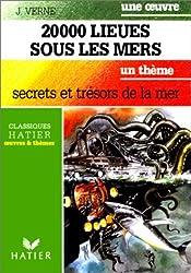 Une oeuvre : Vingt-mille lieues sous les mers de Jules Verne - Un thème : secrets et trésors de la mer