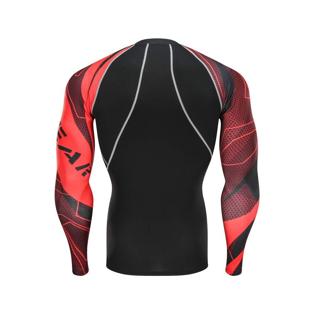 Cool Dry Sports Tights Shirt Set Baselayer Running Shirt Pants Set Zoilmxmen Mens Quick-Dry Tracksuits Sets