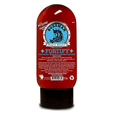 Bossman Fortify Intense Beard Conditioner to Grow, Thicken, Moisturize and Protect Your Beard (Top Products)