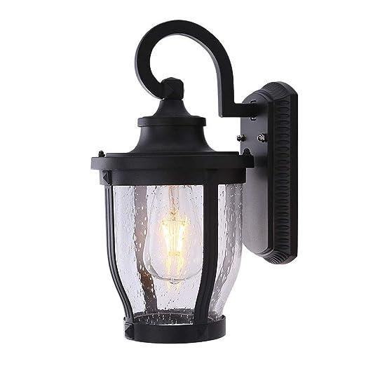 Aplique LED para Exteriores Luz de jardín ático Vintage Resistente ...
