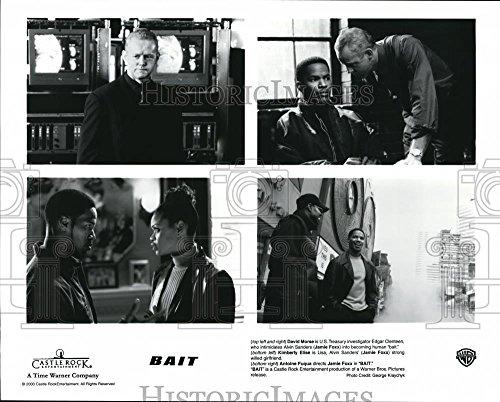 2000 Press Photo David Morse and Jamie Foxx in Bait (Bait Jamie Foxx)