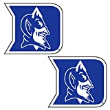 Duke Blue Devils Decal D DEVIL 2-PK DECAL 2'