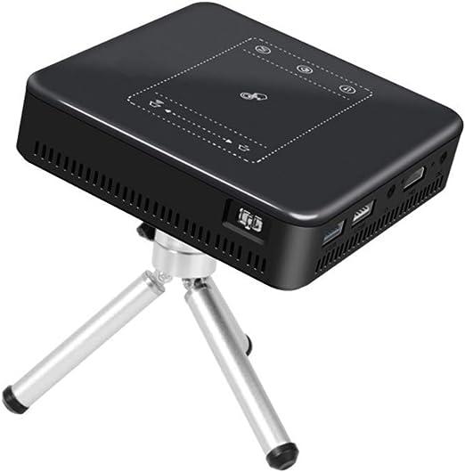 Juonjee Proyectores proyector de Cine en casa móvil táctil del ...