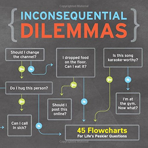 Knock Knock Inconsequential Dilemmas: 45 Flowcharts For Life's Peskier - Chart Flow Warehouse