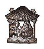Mini Nativity for the Holidays Recycled Metal from Haiti 6.5″ x 6.5″ Review