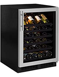 Northland 24 Wine Cellar, Stainless Steel Framed Glass Door, Right Hinge