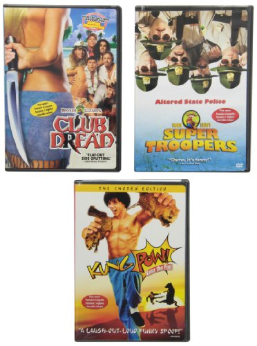 Club Dread (Rated)/Kung Pow: E (Frn)
