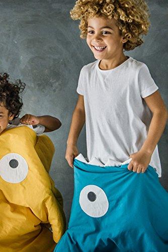 Baby Bites ORIGINAL - Saco kids ESMERALDA, estampado CALCETINES - Modelo VERANO