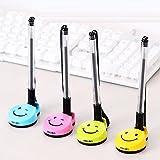 Chris.W Pack of 4 Smile Face Desktop Gel Ink