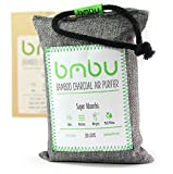300g Bamboo Charcoal Car Deodorizer/Car Freshener Bag - Remove Air Odor, Control Moisture & Purifier your Car, Closet, Bathroom, Kitchen, Litter Box - Non-Fragrant Alternative to Sprays