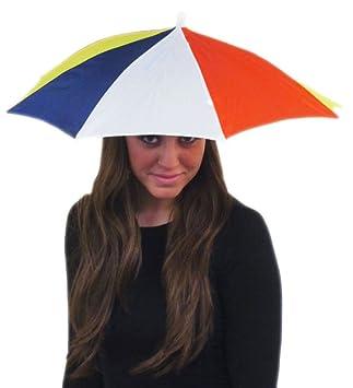 86b1867bce225 Colorful Umbrella Hat - Funny Colorful Umbrella Hat  Amazon.ca  Toys   Games