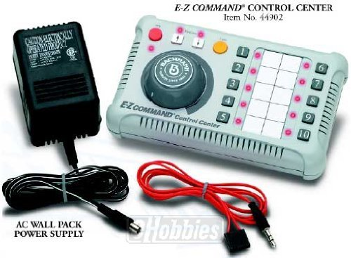 Plug-And-Play Compatibility With All Dc And Dcc Systems - Bachmann Trains E-Z Command Digital Command Controller -
