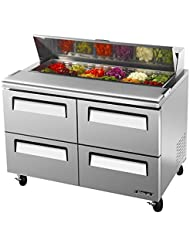 Turbo Air TST-48SD-D4 Solid Drawer Sandwich/Salad Unit