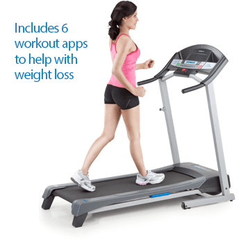 Includes 6 workout apps to help with weight loss.