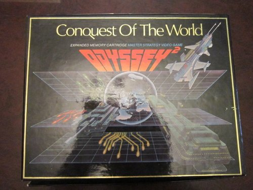 Odyssey Magnavox 2 Games - Conquest of the World (Odyssey 2)