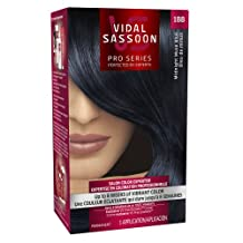 Vidal Sassoon Pro Series London Luxe Hair Color 1BB Midnight Muse Blue 1 Kit- Packaging May Vary