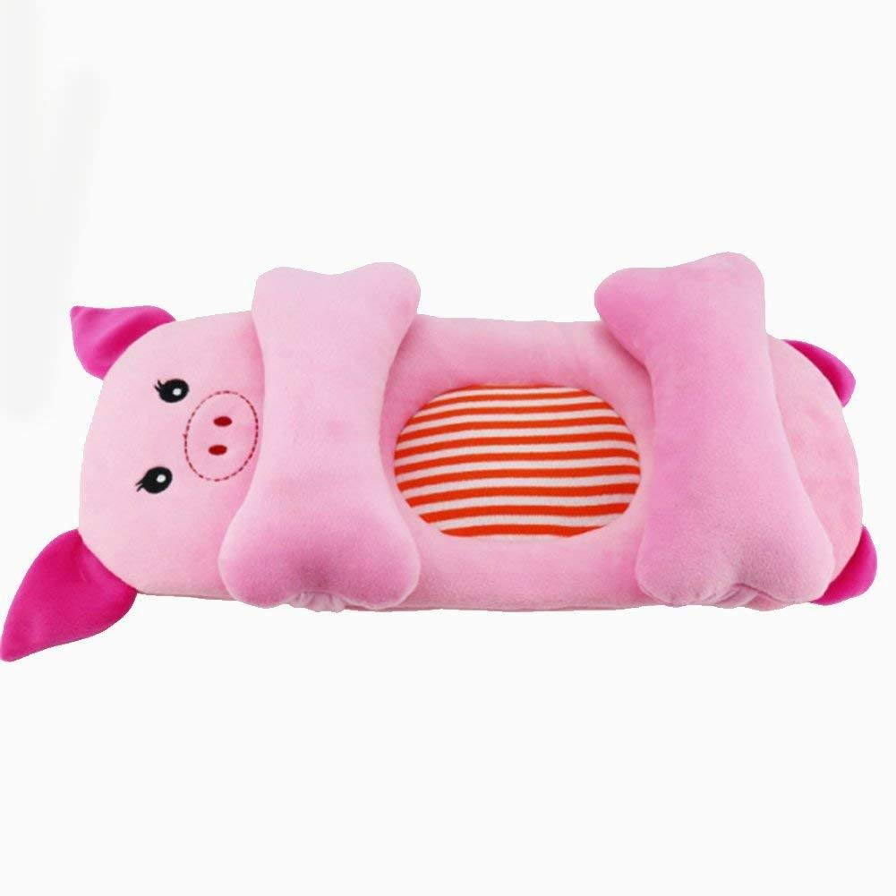 Cartoon Shaped Baby Pillow Prevent Flat Head Anti-rollover Baby Head Shaping Memory Pillow Support