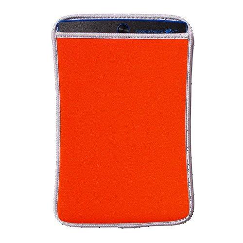 Neoprene Sleeve Case for Boogie Board 8.5-Inch LCD writing tablet (Orange)