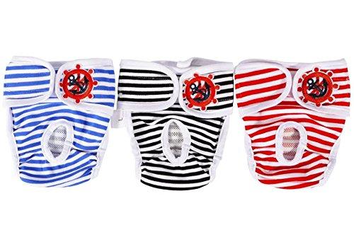 HTKJ Female Diapers Washable Reusable