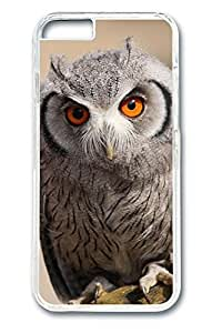 6 plus Case, iPhone 6 plus Case - Perfect Fit Cases for iPhone 6 plus Cute Owl Clear Hard PC Bumper Covers for iPhone 6 plus