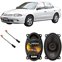 Fits Chevy Cavalier 1995-2005 Front Door Factory Replacement Harmony HA-R46 Speakers