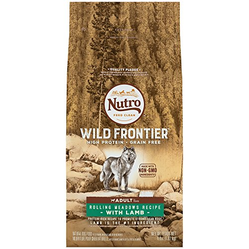 Cheap NUTRO WILD FRONTIER  Adult Rolling Meadows Recipe Grain Free Lamb Dry Dog Food 4 Pounds (Discontinued by Manufacturer)