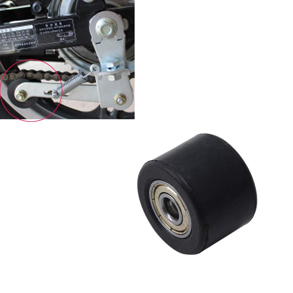 Chain Tensioner Keenso Universal Tension Adjuster Guide Kit Roller Slider with Spring for Dirt Pit Mini Bike Motorcycle