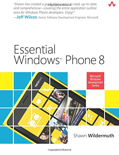 Essential Windows Phone 8 (2nd Edition) (Microsoft Windows Development Series)