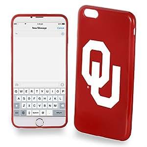 Oklahoma Sooners iPhone 6 Plus TPU Silicone Soft Slim Case