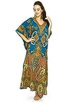NEUF pour femmes coupe oversize MAXI Kimono Tunique caftan robe caftan taille Libre
